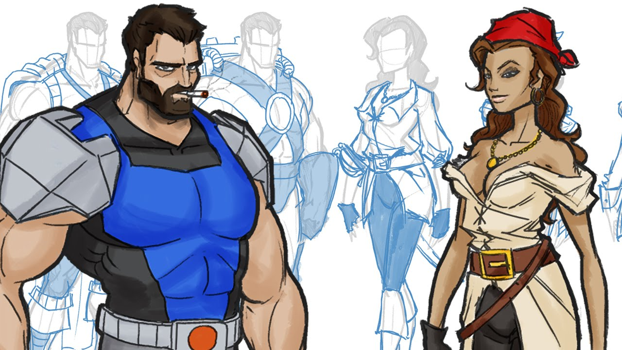 1280x720 How To Design Outfitscostumes For Your Comic Book And Cartoon