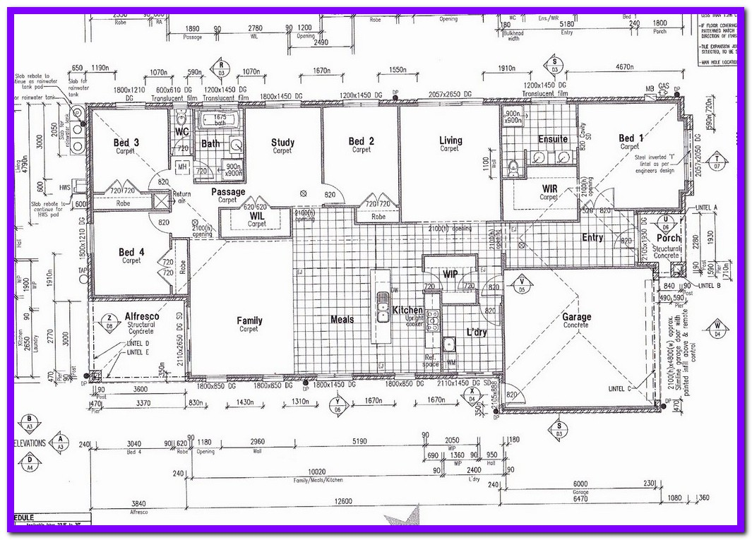 Commercial building drawing at free for for Commercial building blueprints free