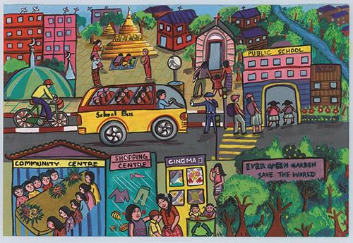 500x345 2016 World Habitat Day Children's Drawing Contest Sustainable