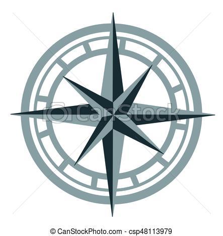 443x470 Compass vectors illustration