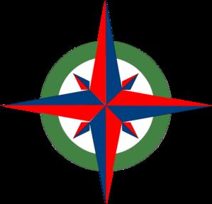 299x288 Draw A Compass Rose Clipart Panda