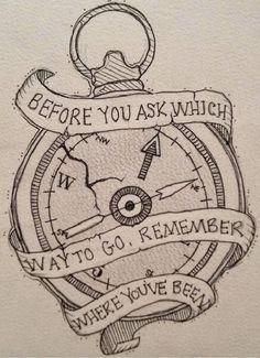 236x325 Compas Tattoo Tattoos Lt3 Compass, Clock And Tattoos