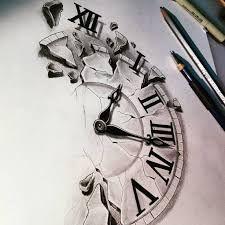 225x225 Znalezione Obrazy Dla Zapytania Cracked Clock Drawing Tatu