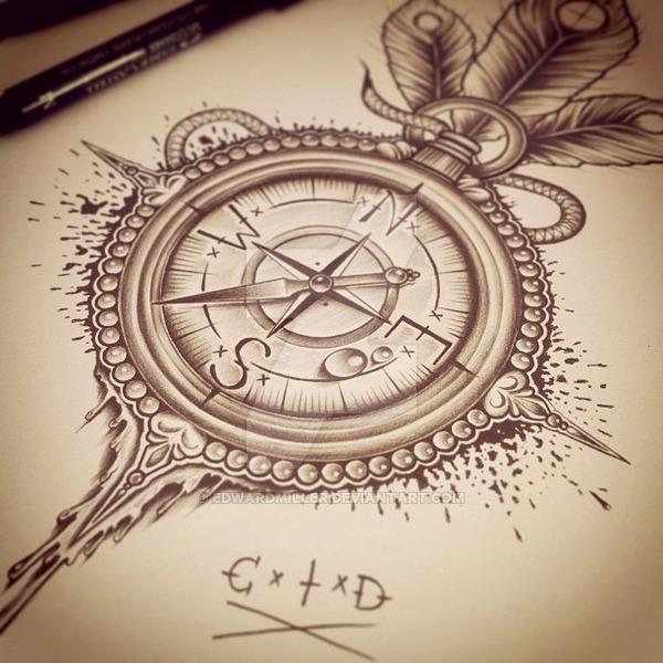 600x600 C X I X D Compass By Edwardmiller