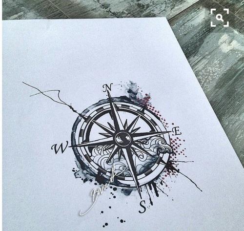 500x473 Compass, Drawing, Draw, Diy