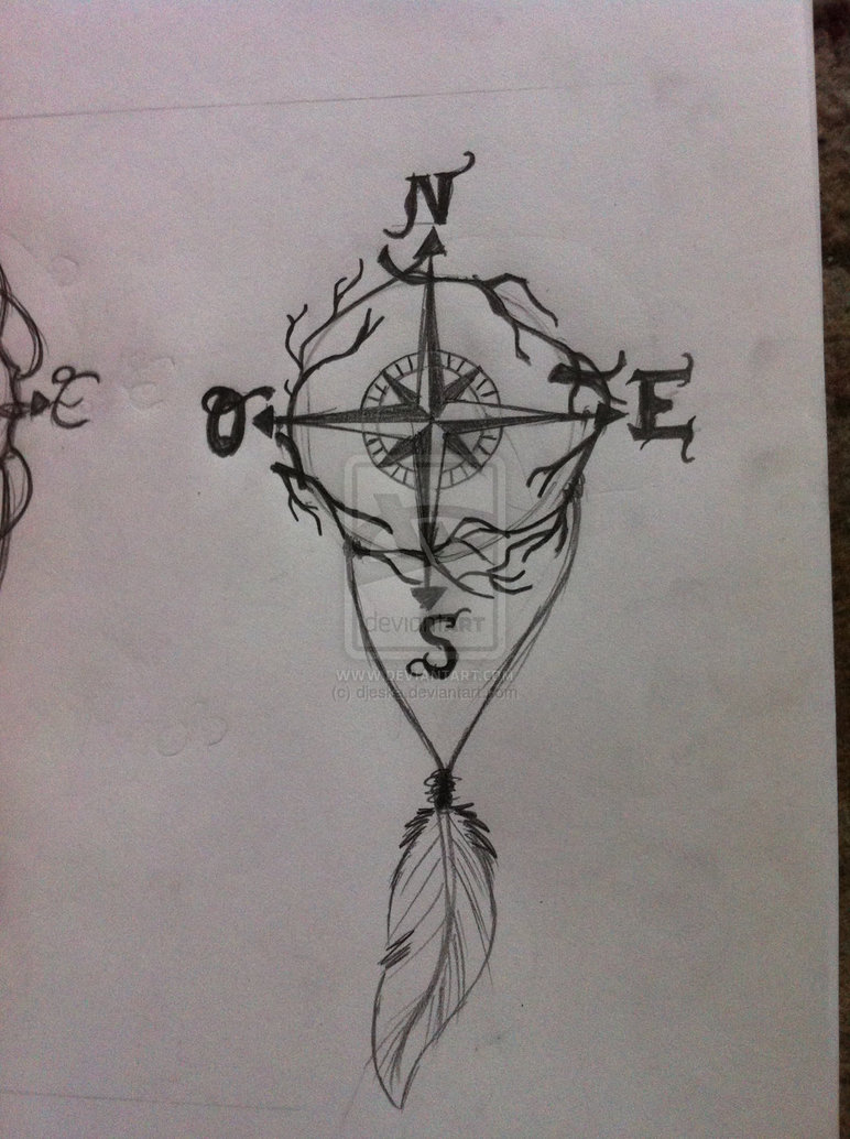 Compass Tattoo Drawing At Getdrawings Com Free For Personal Use