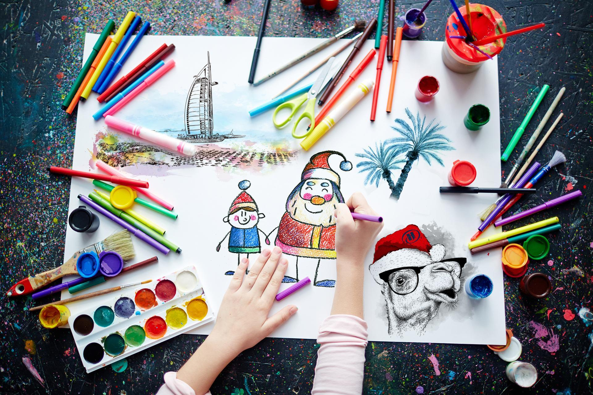 1920x1279 Sign The Kids Up For A Santa In Dubai Drawing Contest By Hilton