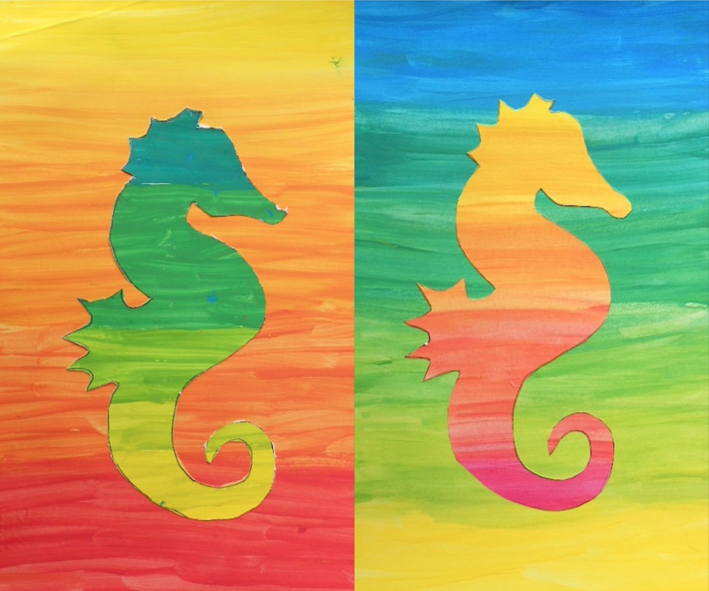 2362x1969 Silhouette In Color Gradations Silhouette Painting, Silhouettes