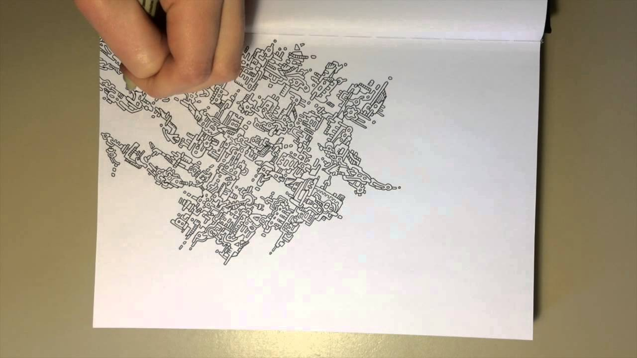 1280x720 Speed Drawing Computer Chip