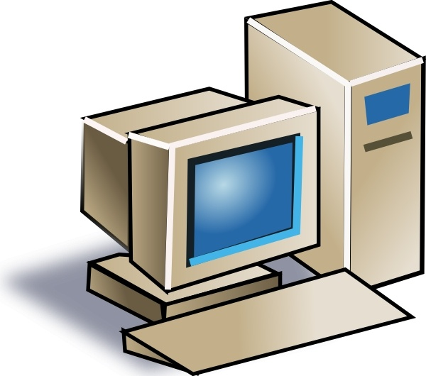 600x530 Personal Computer Clip Art Free Vector In Open Office Drawing Svg