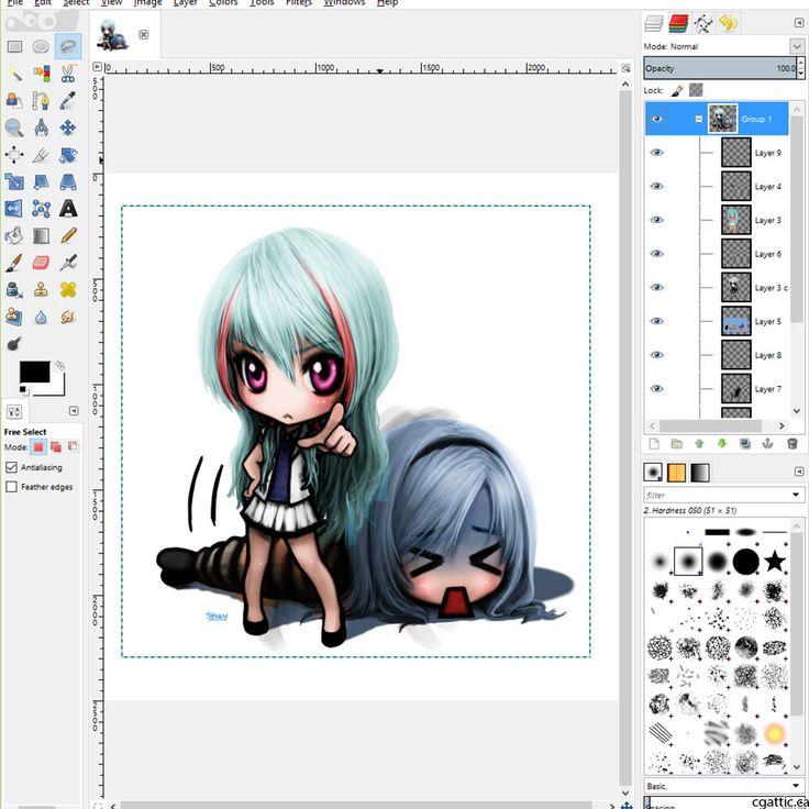 736x736 Computer Drawing Software