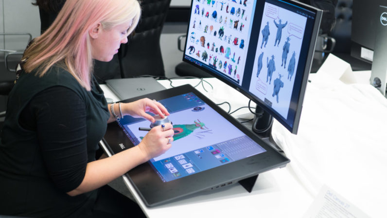 796x448 Takes On The Surface Studio With A Ginormous Drawing Tablet