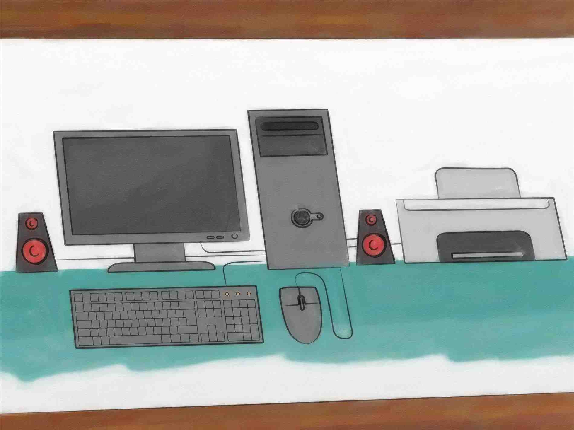 1900x1425 Computer Parts Drawing Home Design Pictures