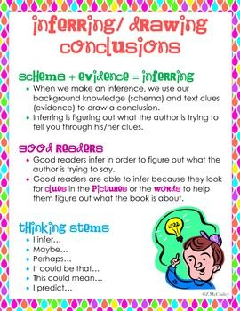 270x350 Inferring Or Drawing Conclusions Unit