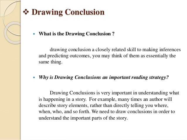 638x479 Drawing Conclusion Amp Predicting Outcomes