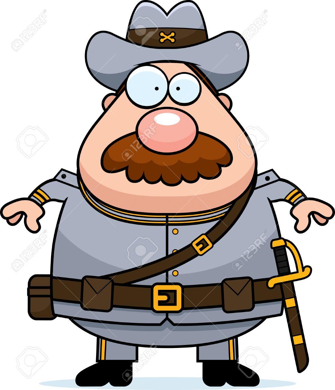 1116x1300 A Cartoon Illustration Of A Civil War Confederate Soldier