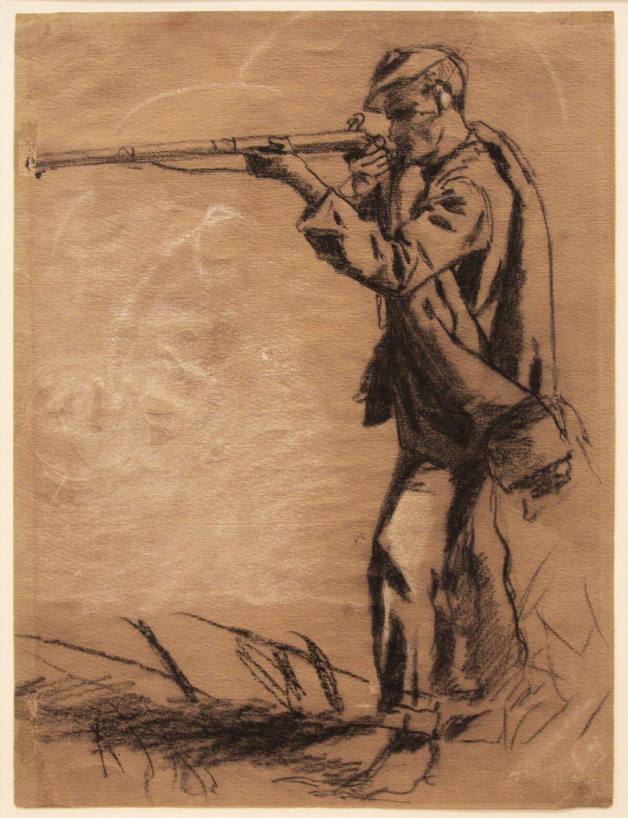 1228x1600 Civil War Soldier. Winslow Homer's Civil War Drawings