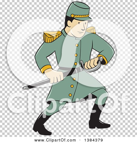 450x470 Clipart Of A Cartoon American Confederate Army Soldier Drawing His