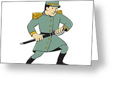 226x170 Confederate Army Soldier Drawing Sword Cartoon Digital Art By