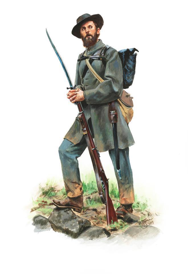 660x960 Confederate Soldier, Us Civil War. Civil War Civil