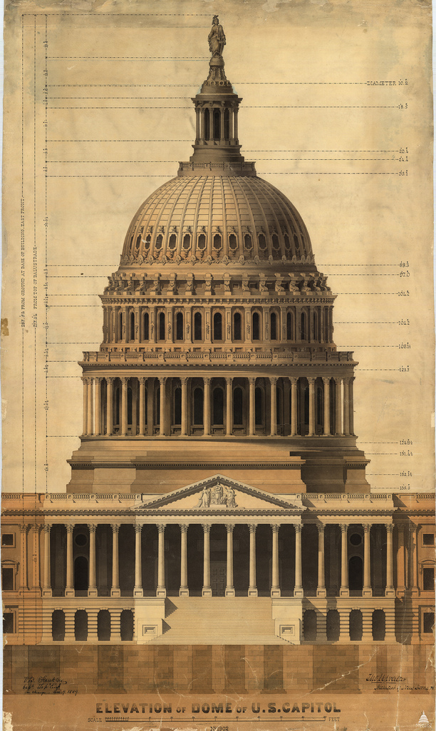 612x1024 Capitol Dome Architect Of The Capitol United States Capitol