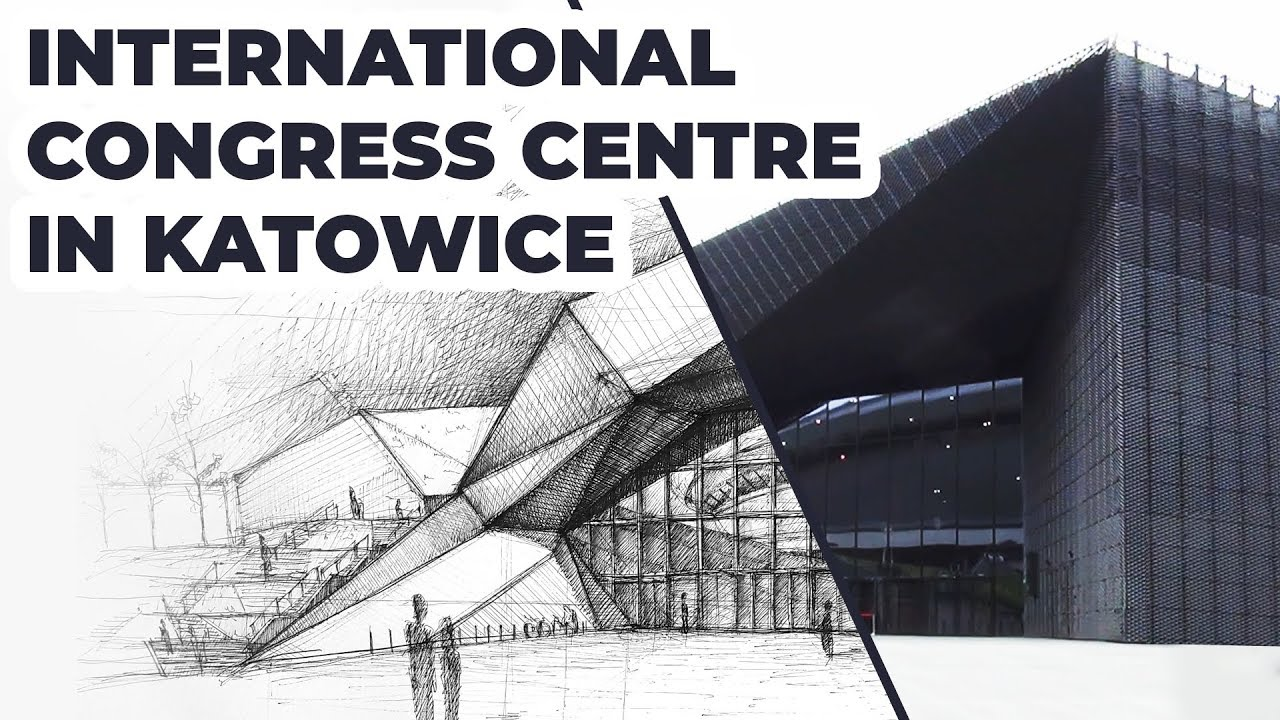 1280x720 Drawing International Congress Centre In Katowice