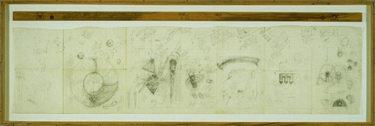 750x252 L.o.c.d. (Library Congress Drawing) Study For Operation