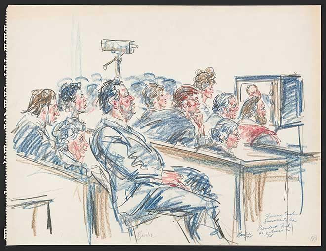 660x508 President Ford's Videotaped Testimony