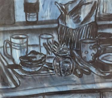 375x326 Buy Original Acrylic Modern Still Life Drawings Online Saatchi Art