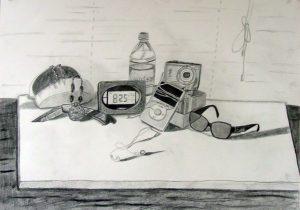 300x210 Contemporary Still Life Drawing