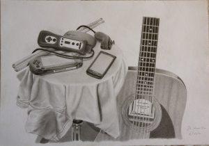 300x210 Modern Still Life Drawings