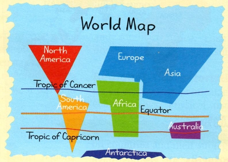 793x564 7 Continents Practice Drawing The Mental Map Of The World