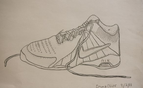 Contour Line Drawing Picasso : Contour shoe drawing at getdrawings free for personal use