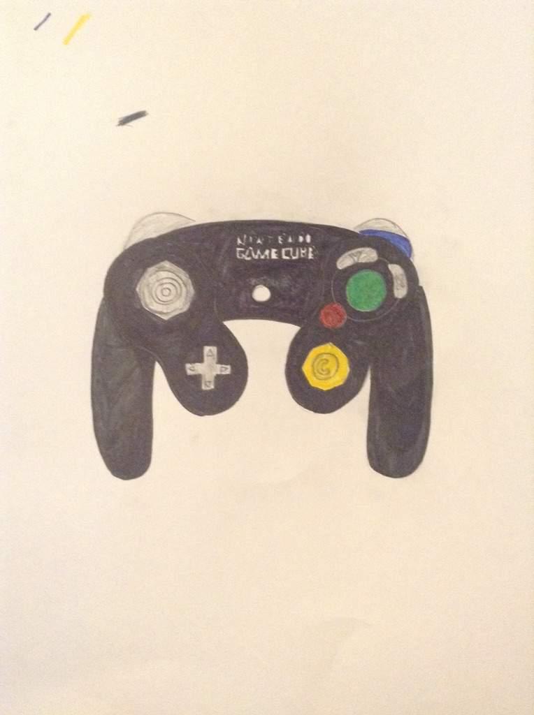 764x1024 Gamecube Controller Drawing Smash Amino