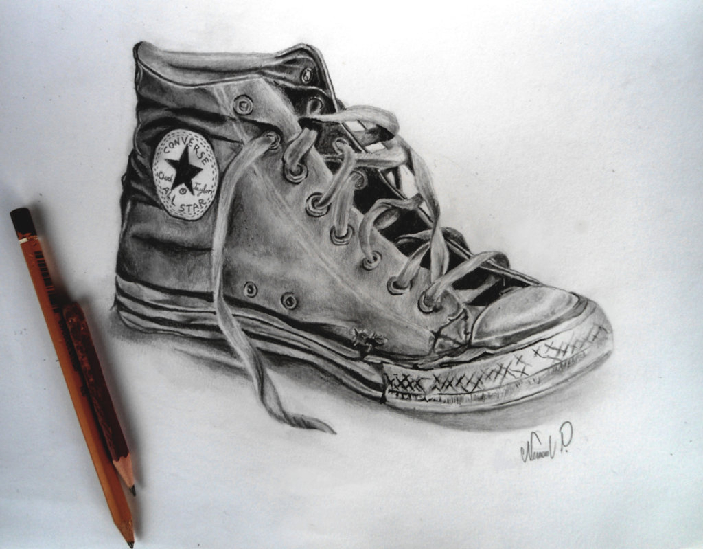 converse shoes drawing at getdrawings free download
