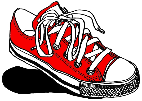 Converse Shoes Drawing At Getdrawings Com Free For