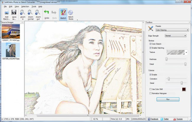 650x415 How To Convert Photo To Line Drawing With Softorbits Software