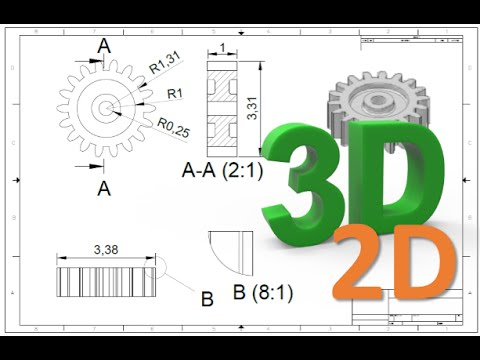 480x360 How To Convert 3d To 2d Drawing In Autocad