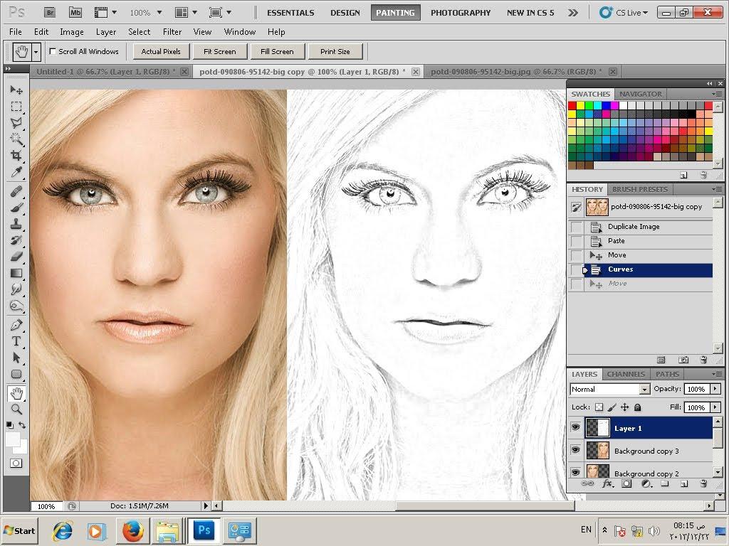 1024x768 Photo To Sketch Converter Photoshop Tutorial Convert Photo To Line