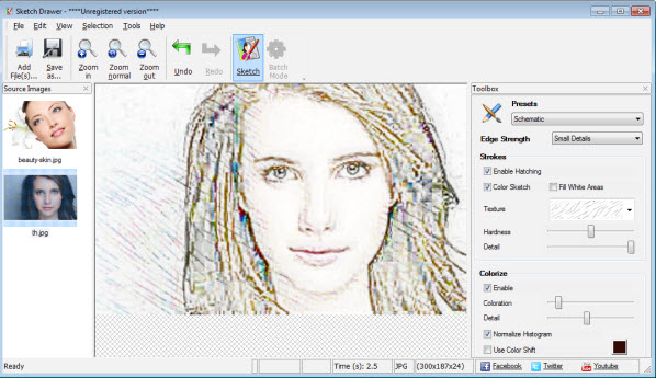 598x345 photos free photo to pencil sketch converter
