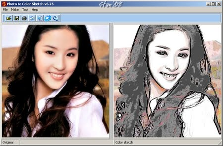 450x295 Free N Exclusive Software Download ! Convert Photo To Pencil