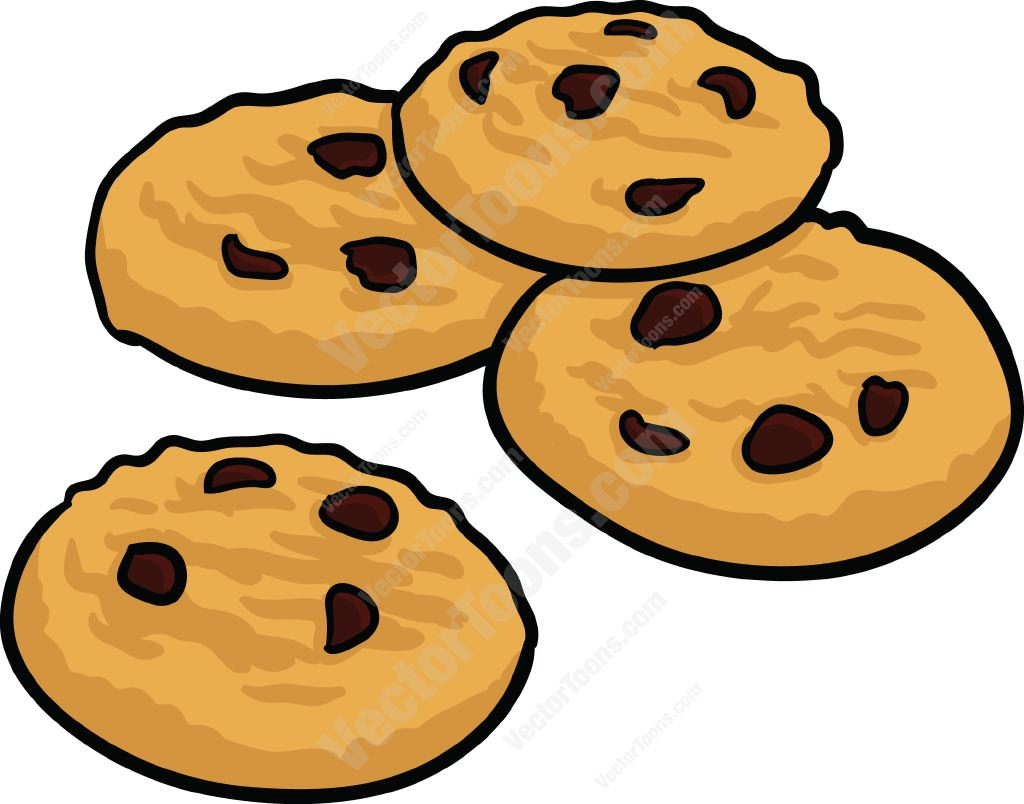 1024x804 Chocolate Chip Cookie Drawing Chocolate Chip Cookies Clipart