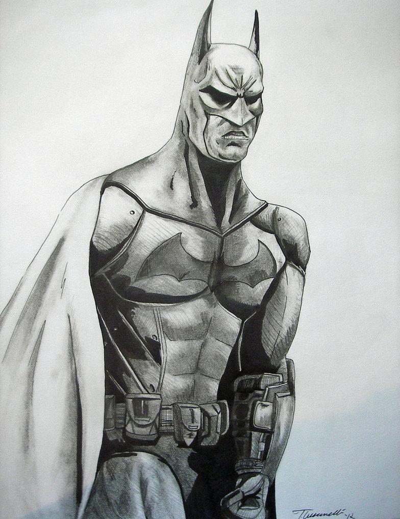 784x1018 Arkham City Batman Drawing By Cust0m