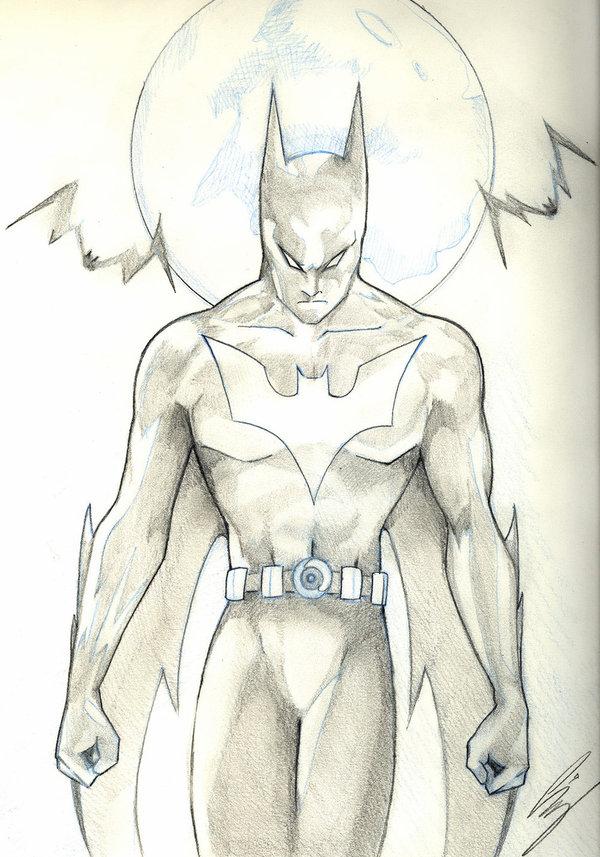 600x857 Batman Beyond By Starxade