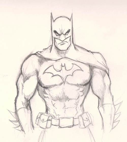 500x559 Very Cool Drawing Of Batman!!!!! Star Wars Batman And My