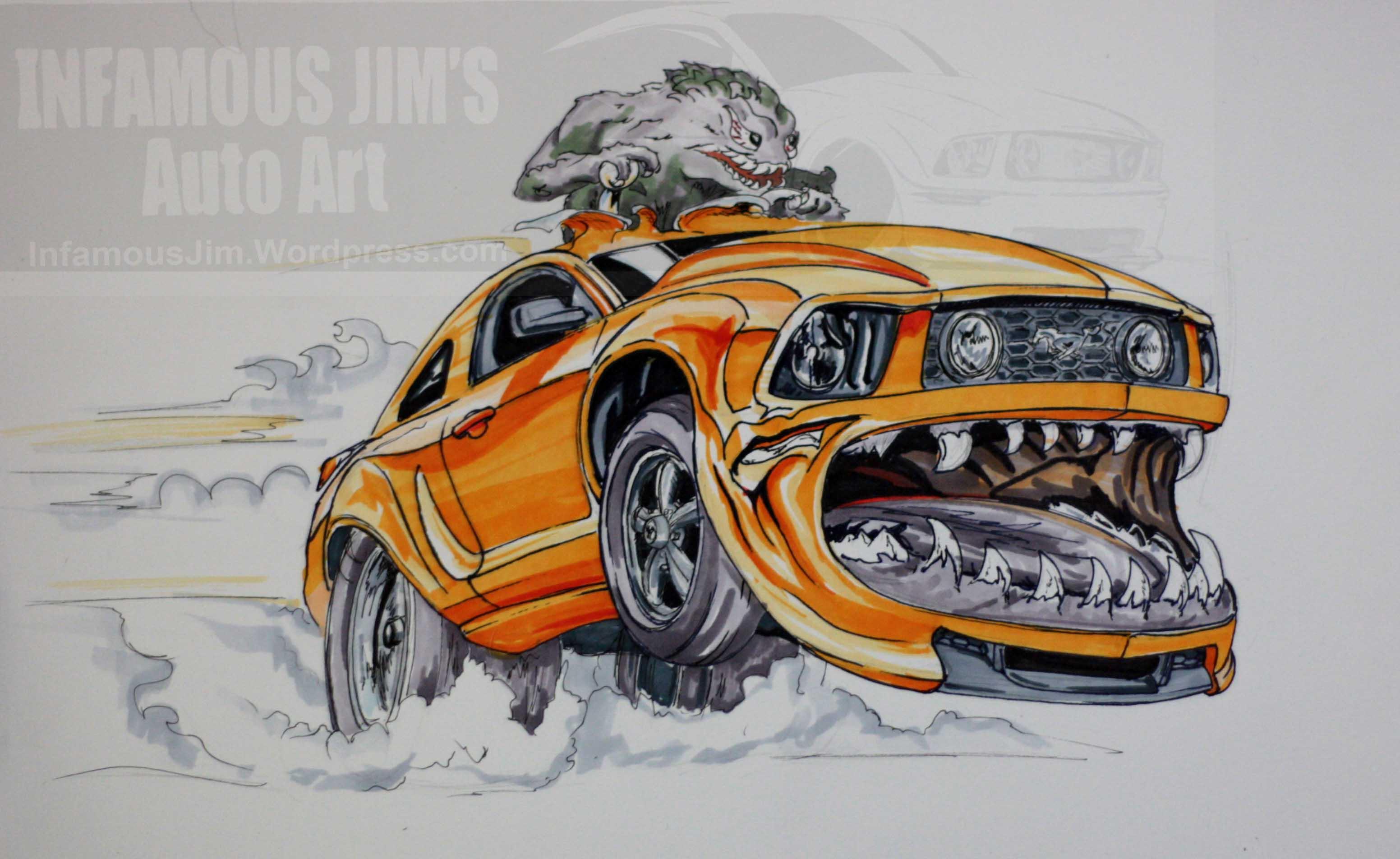 3104x1904 Really Cool Cartoon Cars Car Club Drawing CarToon Art
