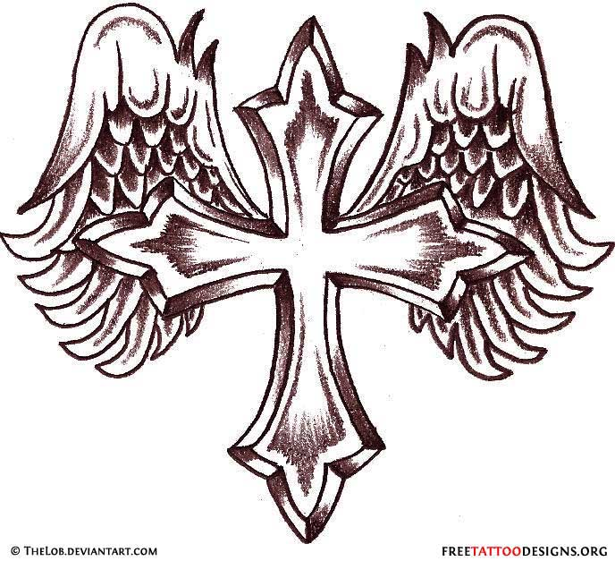 Cool cross drawing at getdrawings free for personal use cool 688x627 50 cross tattoos tattoo designs of holy christian celtic and voltagebd Image collections