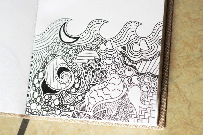 700x466 Cool Drawing Design Ideas