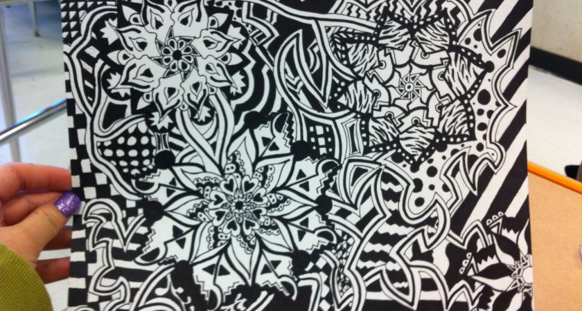 840x450 Paper Back Cool Designs Draw Sharpie