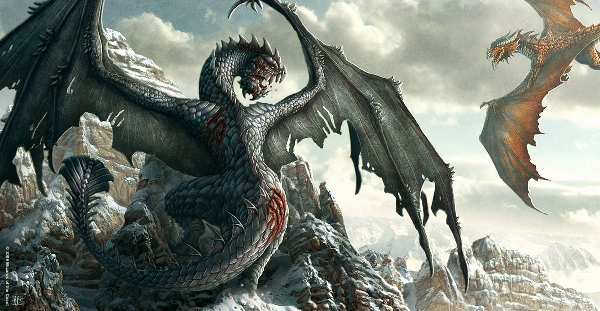 1200x622 32 Awesome Dragons Drawings And Picture Art Of The Mythical  Creatures